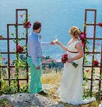 свадьба для двоих в Черногории
