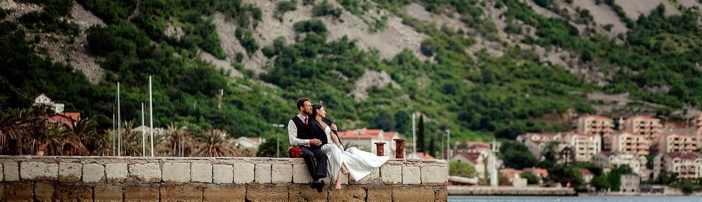 фото свадьба в Черногории