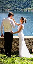 символическая свадьба в Черногории